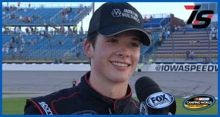 Harrison Burton reflects on career-best Truck Series finish