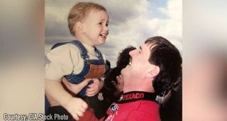 Photo carries special meaning for Robbie Allison on Father's Day
