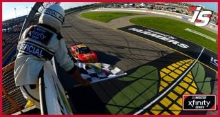 Allgaier holds off Bell for Xfinity Series win at Iowa