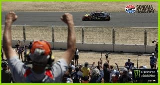 Truex Jr. gets a sweet victory in Sonoma