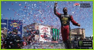 Truex Jr., 78 team snooker the competition at Sonoma