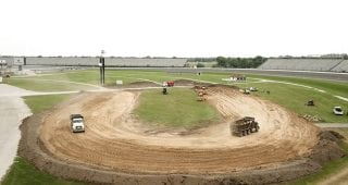 IMS builds new dirt track inside of the Speedway