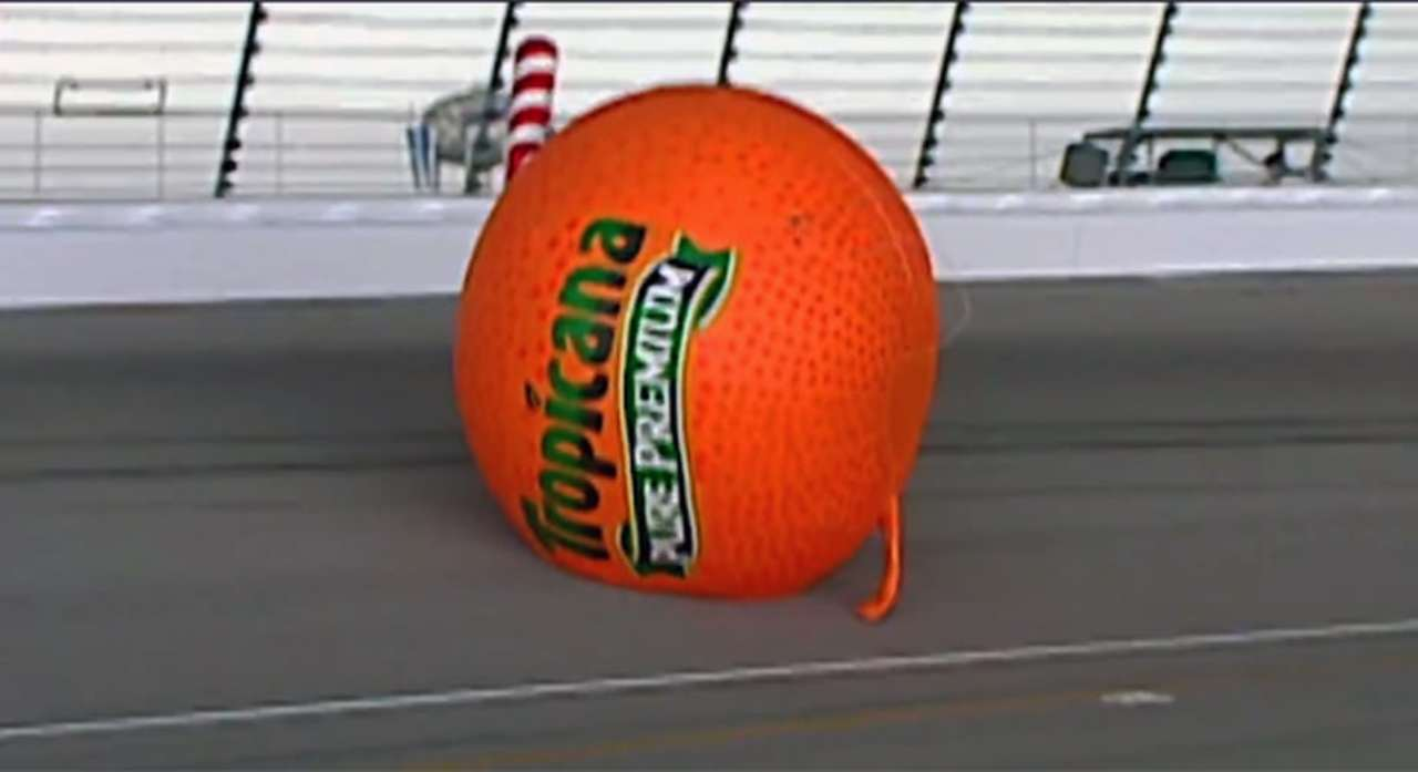 TBT: 'Big and orange' trouble in Turn 4 at Chicagoland
