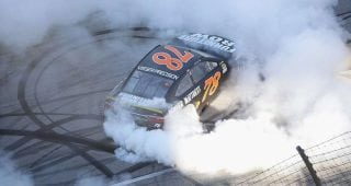 TBT: Martin Truex Jr. goes back-to-back at Chicagoland Speedway