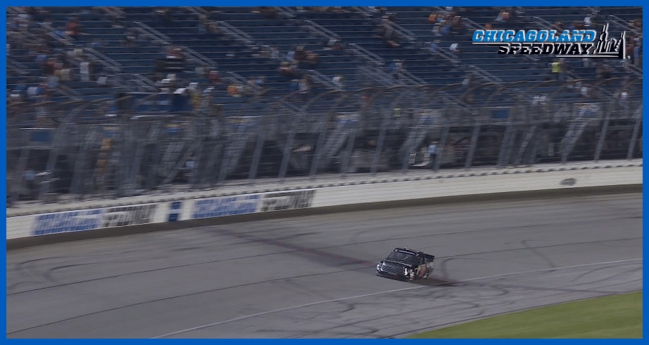 Moffitt takes victory after Nemechek runs out of fuel