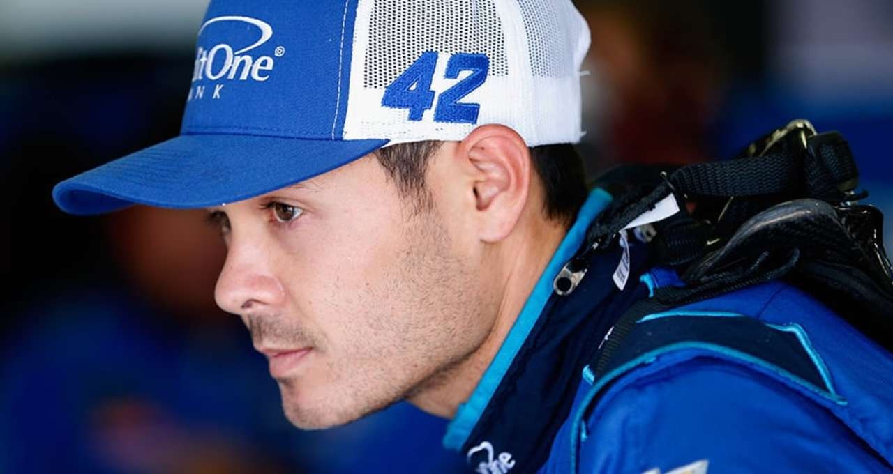 Kyle Larson: 'I feel like I'm fourth-best'