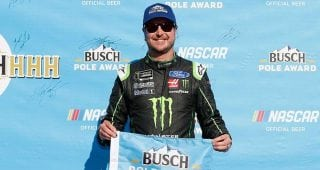 Busch on pole-winning run: 'We stuck to a game plan'