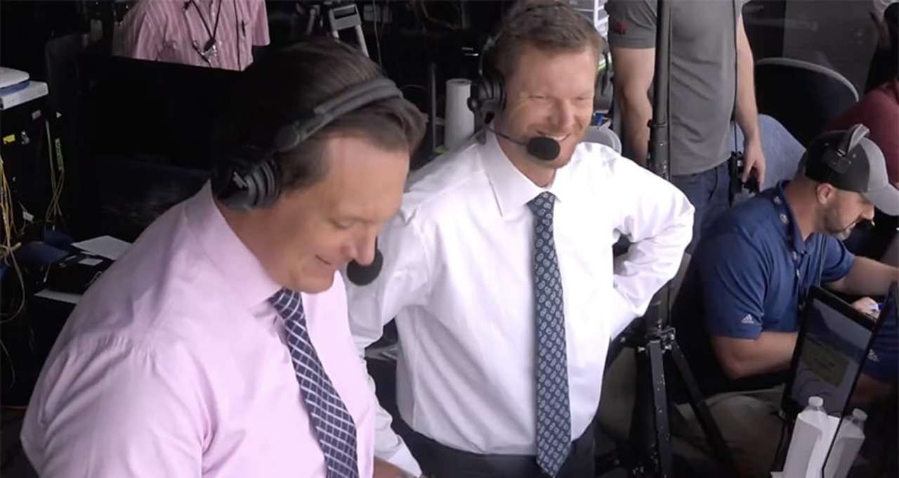 Best clips from Dale Jr.'s NBC booth debut