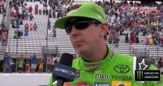 Kyle Busch on finish: 'How you race is how you get raced'