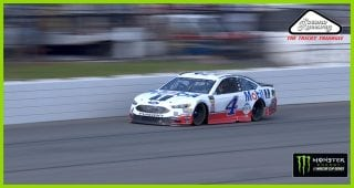 From Lap 1 to 65: Watch Kevin Harvick rocket through field from the back