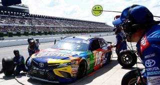Working on all cylinders: No. 18 team