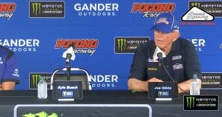 Joe Gibbs compares similarities, differences between Busch, Stewart