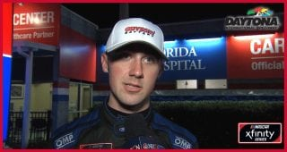 Cindric thanks NASCAR for safety gear after scary wreck