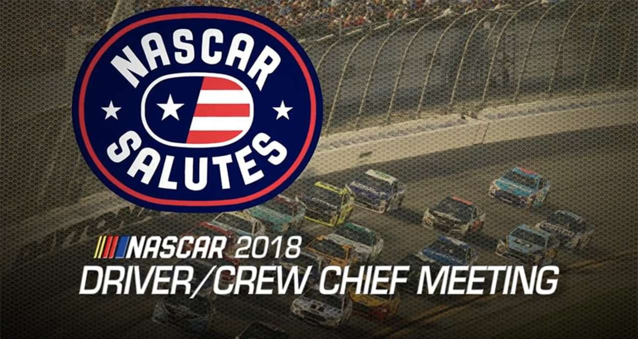 Driver meeting video: Daytona International Speedway