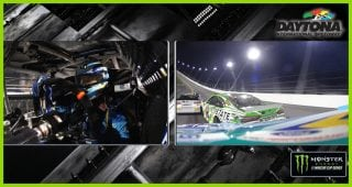 What did Stenhouse Jr. see in second wreck?