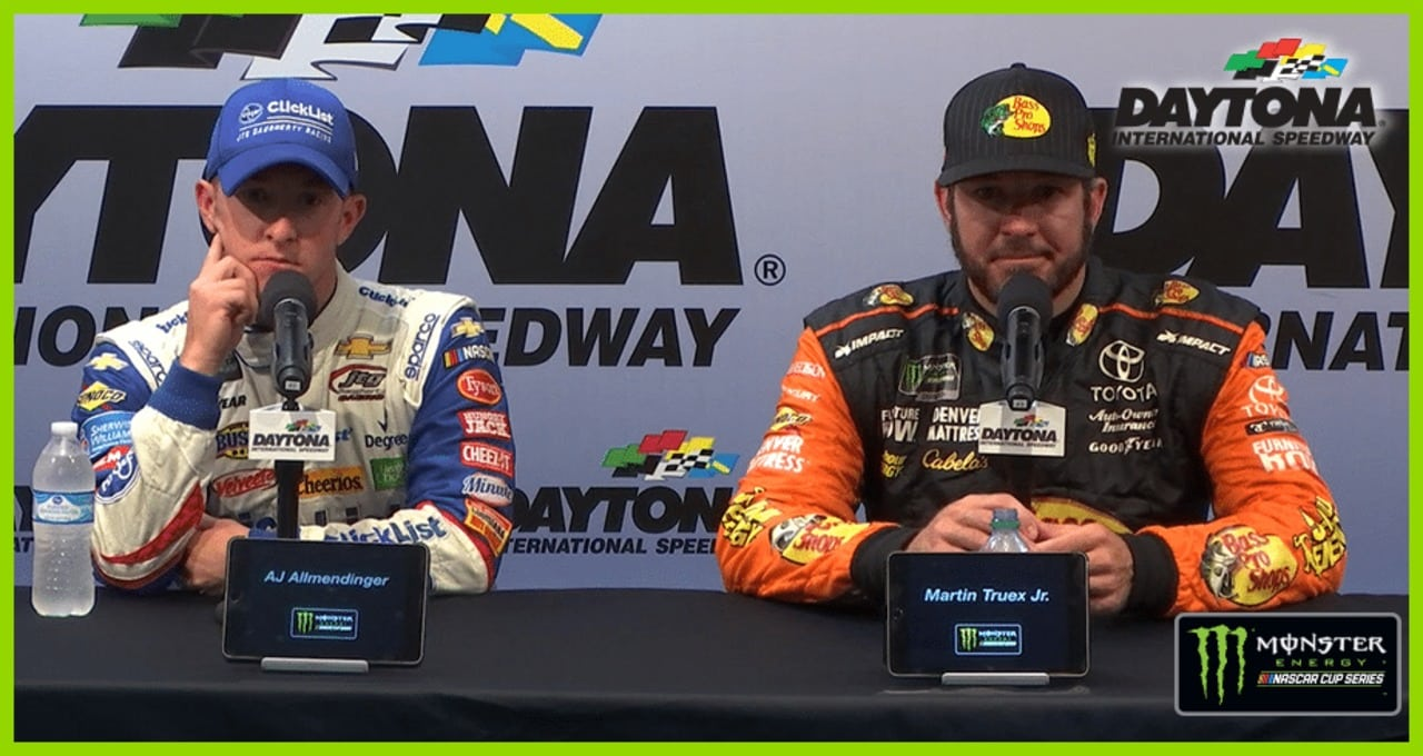 Truex Jr. didn't go easy on Jones: 'Hell no … he earned it'