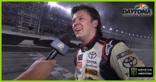 Jones: 'How about that race boys and girls?