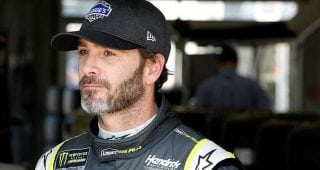 Johnson: Lots of places to 'bust your butt' on Charlotte road course