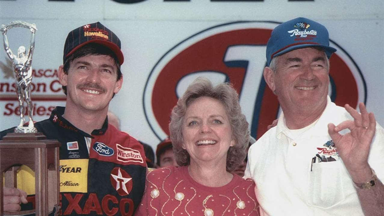 From the Vault: Davey Allison wins 1992 Daytona 500
