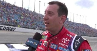 Kyle Busch: If you don't like that kind of racing …