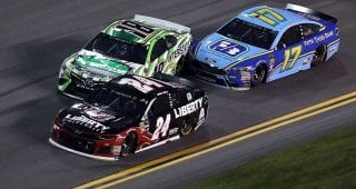 Busch on Stenhouse Jr. not reaching out: 'Apparently he doesn't care'