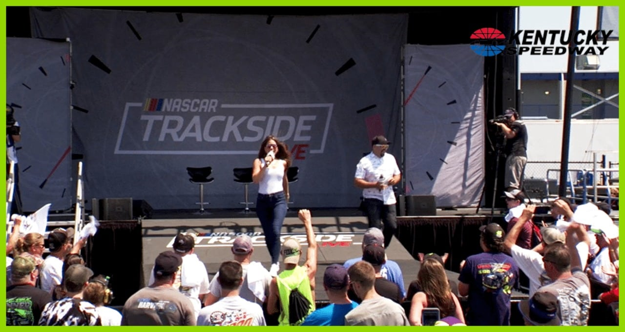 Trackside Live replay: Kyle Larson, Ryan Truex join Kentucky fun