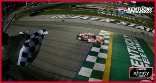 One to Go: Bell goes from rear to Victory Lane