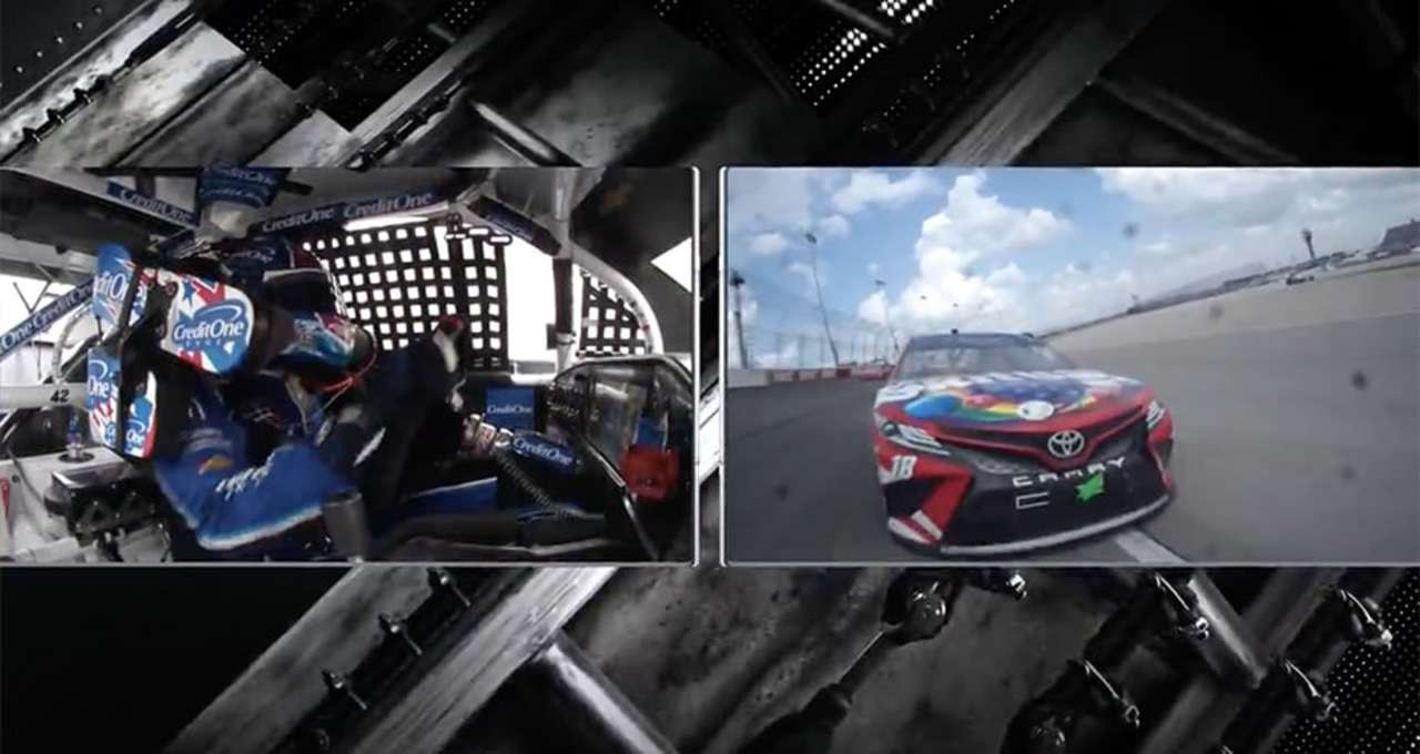 Dale Jr. analyzes final lap between Kyle Busch, Kyle Larson