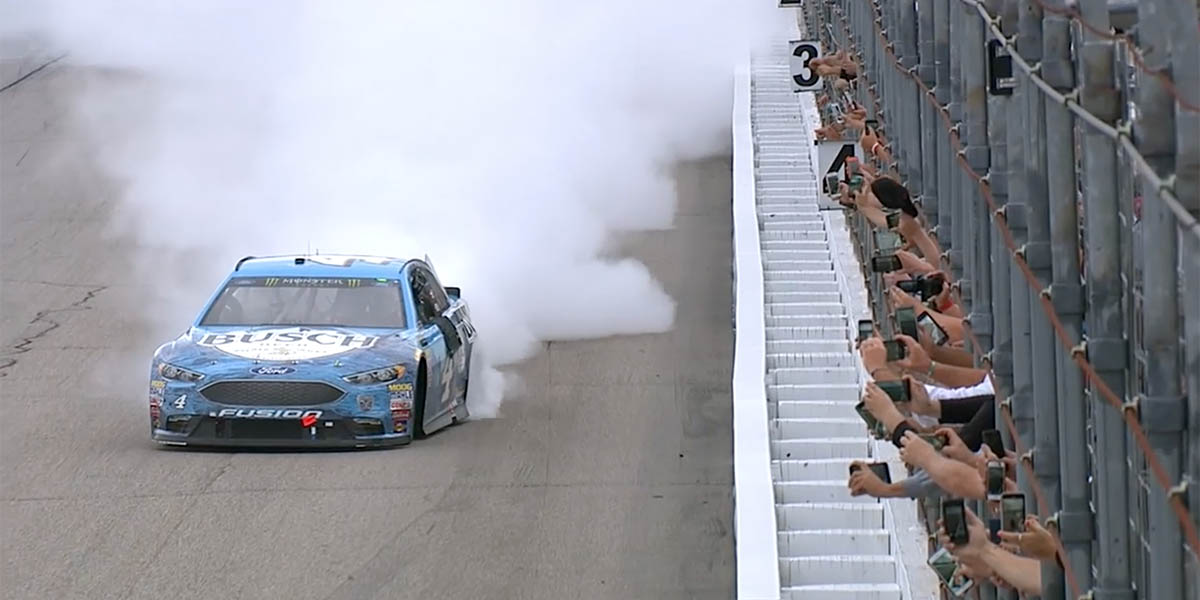 Momento PEAK de Kevin Harvick en New Hampshire