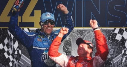 Comparación Kevin Harvick vs. Bill Elliott a las 44 victorias