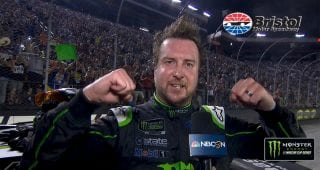 Kurt Busch: Short-track win brings back all the memories