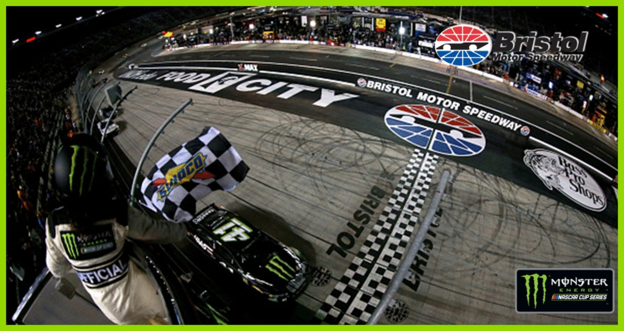 Kurt Busch breaks 58-race winless drought with Bristol victory