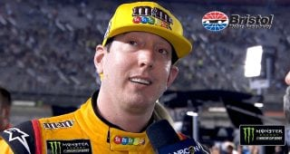 Kyle Busch's drive at Bristol: 'That's just me'