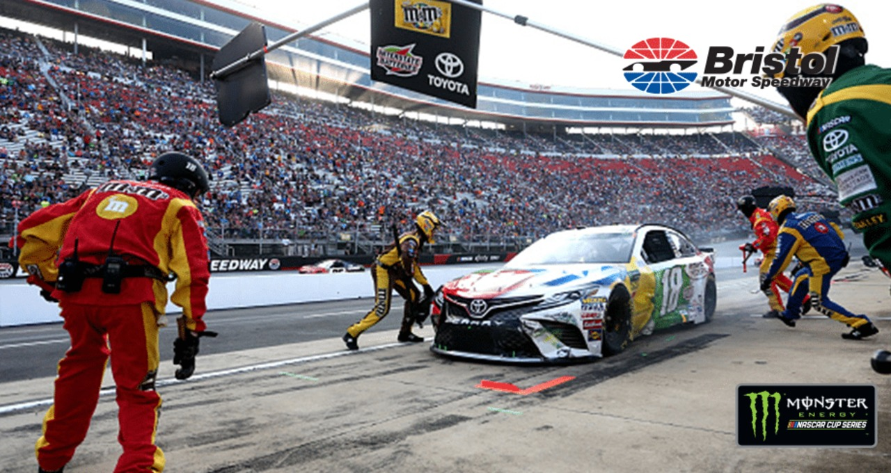 Seesaw kind of night for Kyle Busch at Bristol
