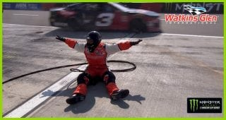 All safe following Chase Elliott's pit stop