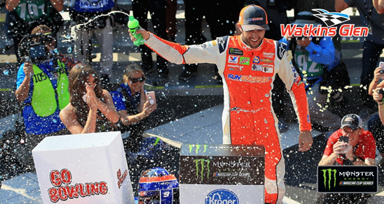 Recap Watkins Glen, Chase Elliott's first win, in under three minutes