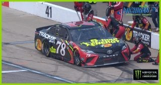 Truex runs out of fuel, penalized before end of Stage 2