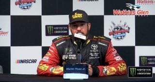 Truex: 'Fell behind even more' with no playoff points at Pocono
