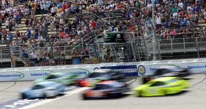 Momento PEAK de Kevin Harvick en el Michigan International Speedway