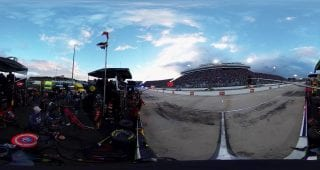 360 view: Truex Jr.'s pit crew reacts to Martinsville ending