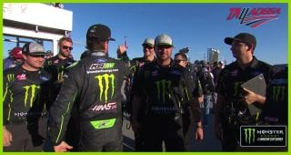 Busch on pole win: 'This comes from a lot of teamwork'