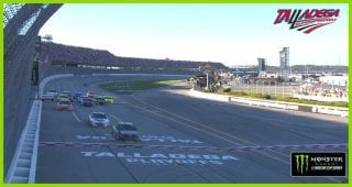 Credit One Bank One to Go: SHR teammates run out of gas, Aric Almirola wins