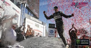 Race recap: Big win on a big day at a big track for Aric Almirola