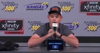 Spencer Gallagher announces retirement from NASCAR racing