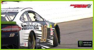Early practice setback for Aric Almirola at Martinsville