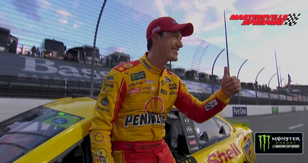 Logano on final-lap move: 'Miami, just thinking about Miami'