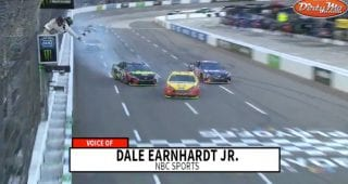Dale Jr.: 'Come on Martin, quit being so clean'