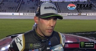 Almirola: Logano 'continues to make things harder on himself'