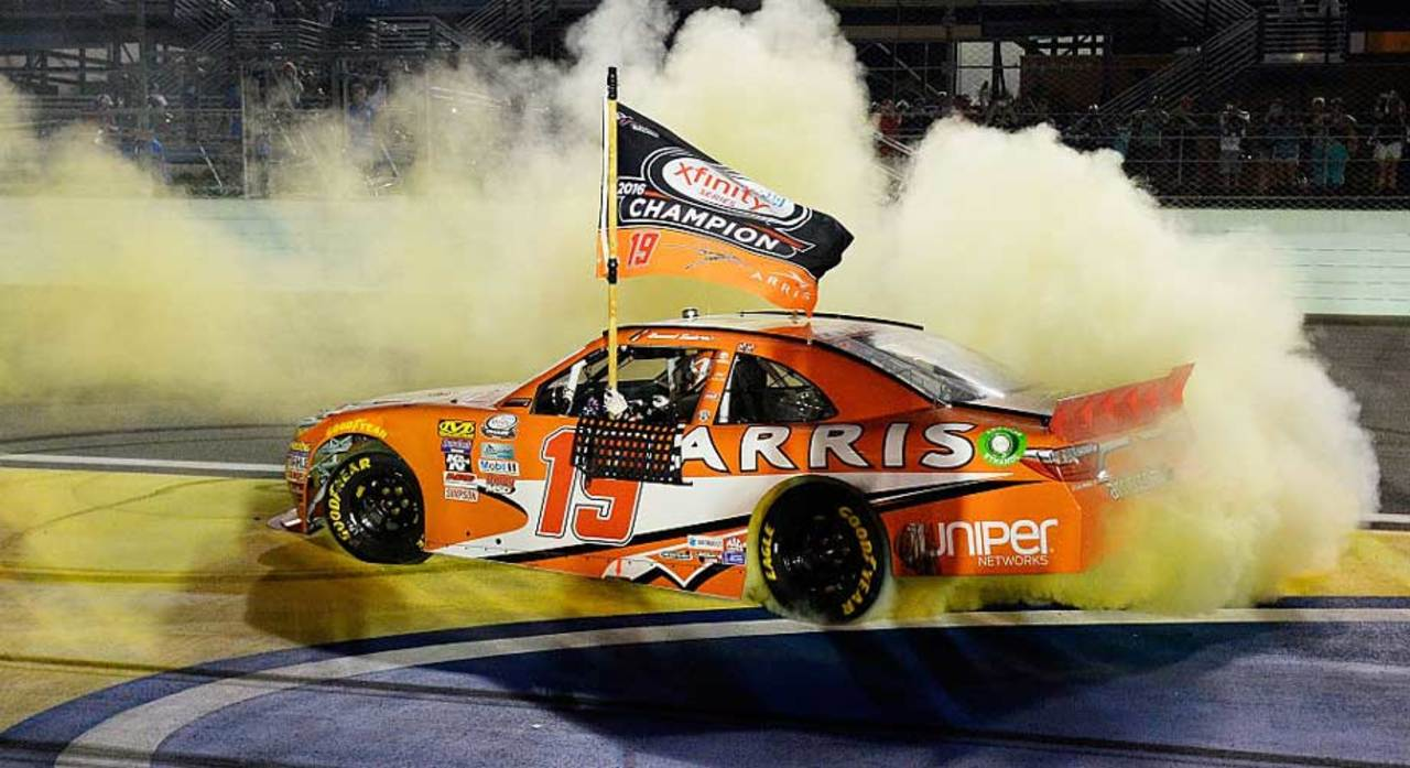 Sunoco Fueled for 15: Daniel Suarez wins 2016 NASCAR Xfinity Series Championship
