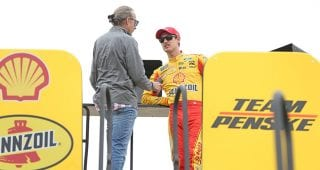 Behind the scenes: Logano's championship weekend